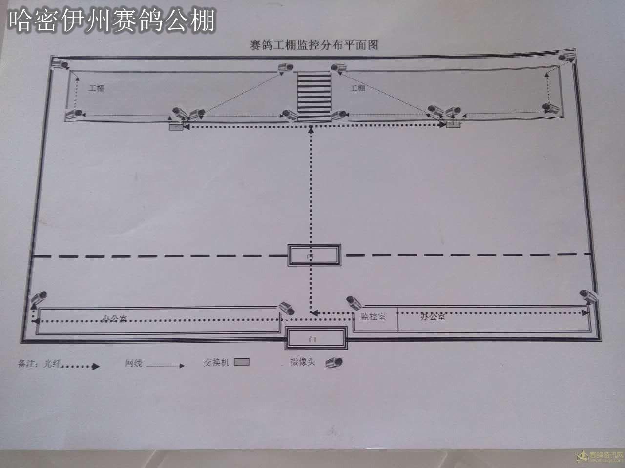 监控布局平面图
