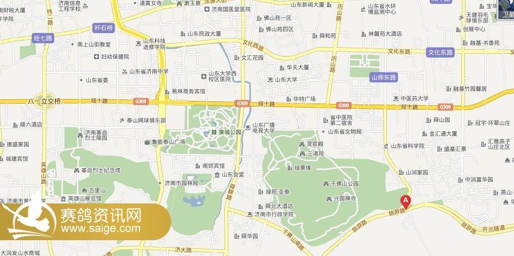济南鱼翅皇宫大酒店位置图