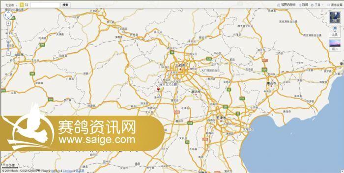 河北省涿州市107路段东仙坡镇