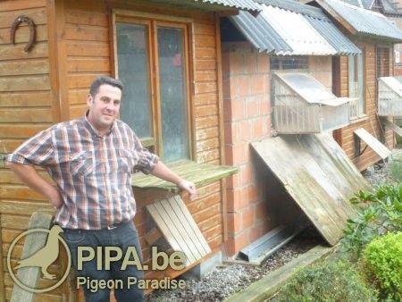 一个在比利时南部地区家喻户晓的鸽舍:戴维.弗拉赛
