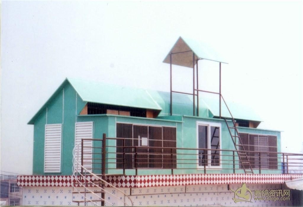 组装式鸽舍,钢框架结构,内部杉木板,外面铁彩板