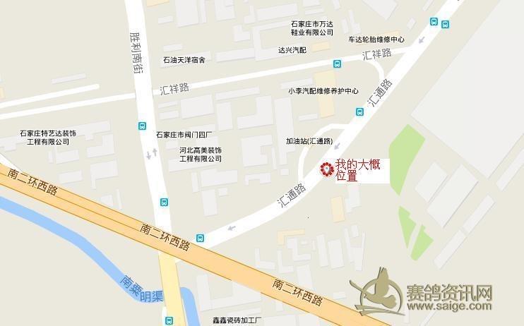 北路天翔社区地图