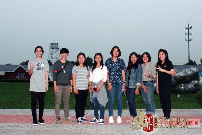 消暑书法欢迎芭提雅晚宴教练团美女陈默图片